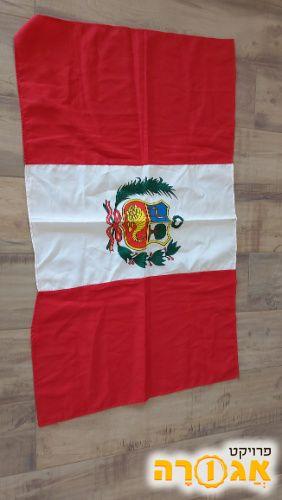דגל גדול של פרו