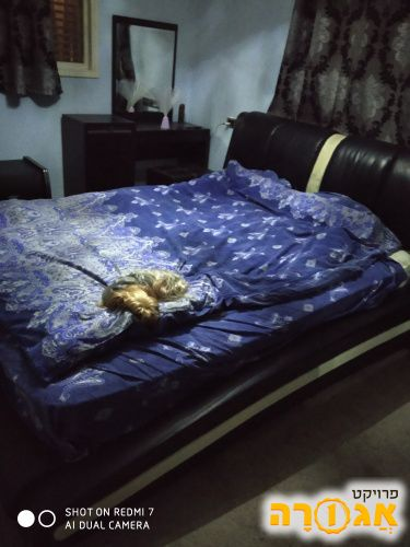 מוסרת מיטה ושידה או שידות