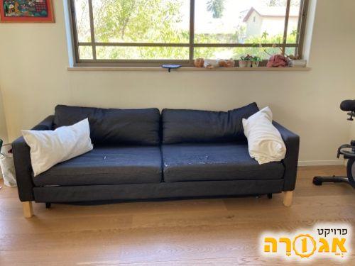 ספה נפתחת תלת מושבים