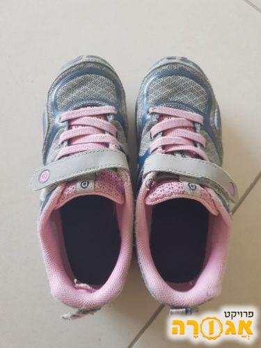 נעליים לבנות מידה 32-33