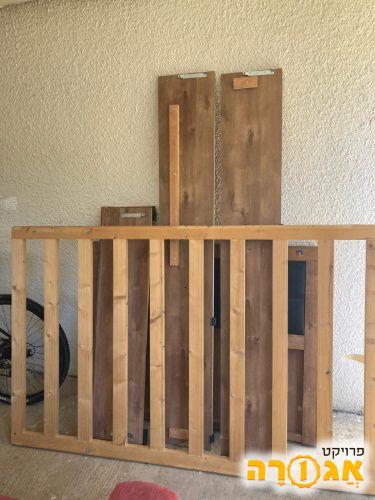 בסיס מיטה מעץ 120 על 190