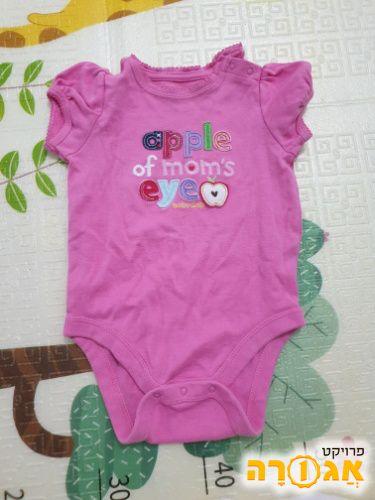בגדי תינוקת 0-6 חודשים