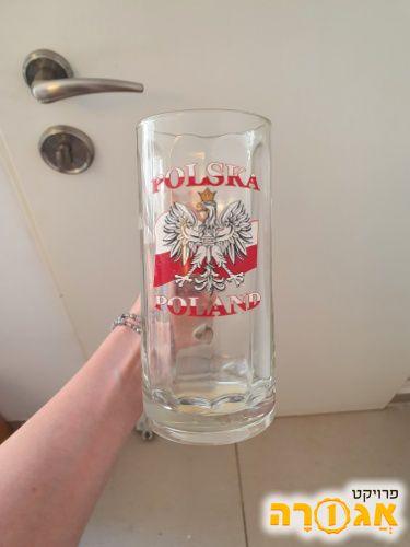 כוס בירה מפולין
