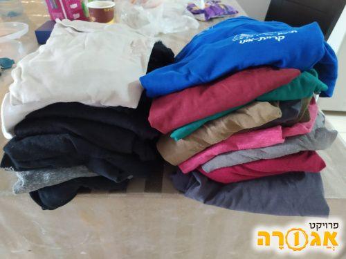 חולצות בנות בית ספר תיכון בן צבי