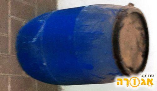 חבית פלסטיק עם מכסה