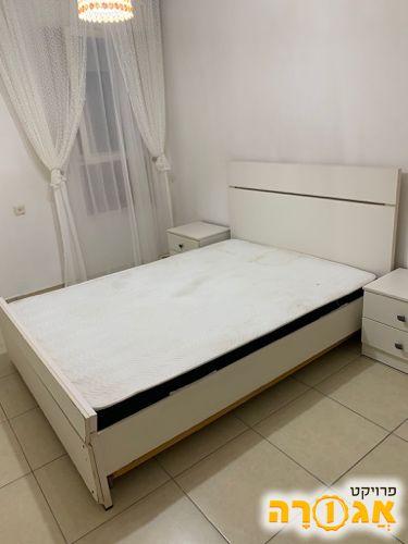מיטה זוגית + מזרן אורטופדי 190x140