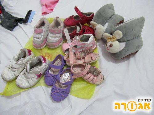 נעליים בנות מידה 22- 24