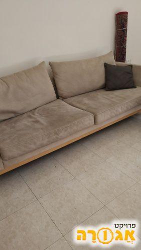 ספה גדולה + ספה של 2